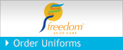 Freedom Aged Care uniforms