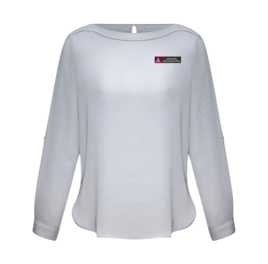 Ladies Silver Mist 3/4 Blouse