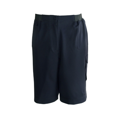 Navy Cargo Shorts - Click to enlarge picture.