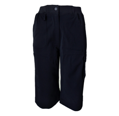 Navy Cargo 3/4 Pants - Click to enlarge picture.