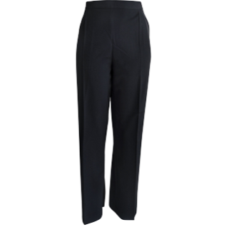Ladies Navy Easy Fit Pants - Click to enlarge picture.
