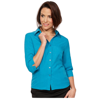 3/4 Climate Smart Blouse - Semi fit