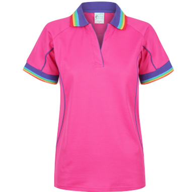 Rainbow Cottonrich Vent Polo Short Sleeve - Click to enlarge picture.