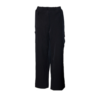 Navy Long Cargo Pants - Click to enlarge picture.