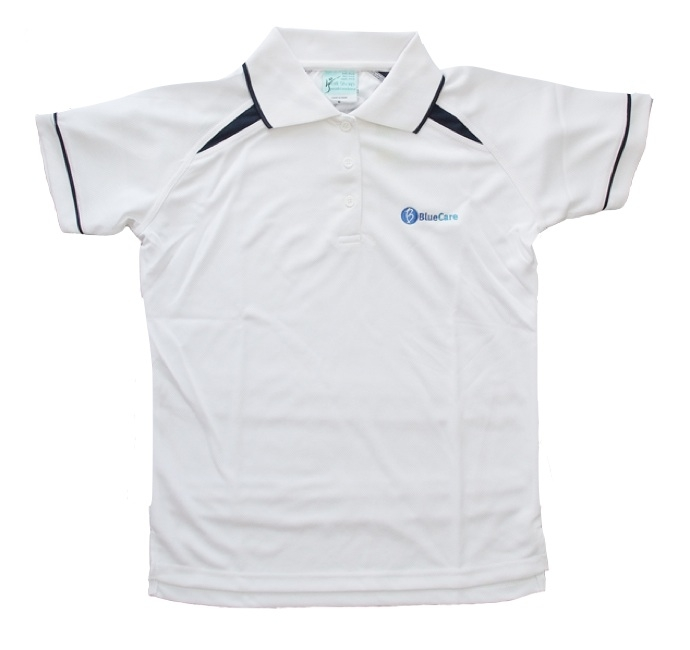 White Cooldry Polo Shirt