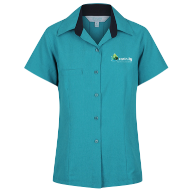Reef Comfort Blouse Short Sleeve - Click to enlarge picture.