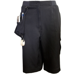 Navy Corporate Utility Shorts - Click to enlarge picture.