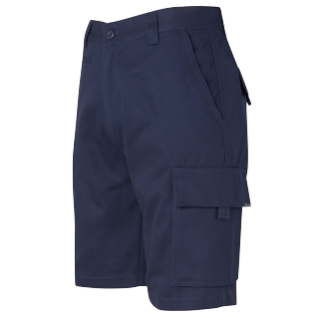 Navy Drill Shorts - Click to enlarge picture.