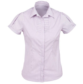 Grape Berlin Short Sleeve Blouse - Click to enlarge picture.