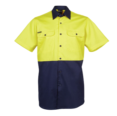 Hi Vis S/S 150G Shirt - Click to enlarge picture.