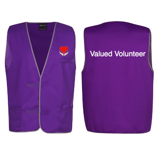 Valued Volunteer Vest