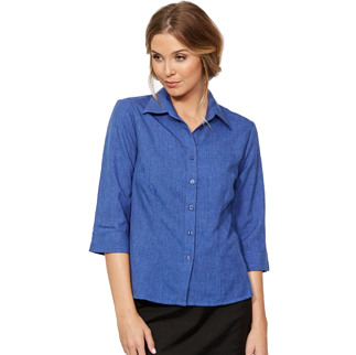 Climate Smart Blouse - Semi Fit 3/4 - Click to enlarge picture.