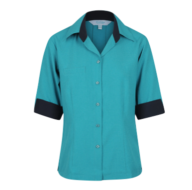 Ladies 3/4 Reef Comfort Blouse