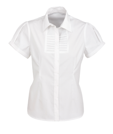 Ladies Short Sleeve Berlin Blouse - Click to enlarge picture.