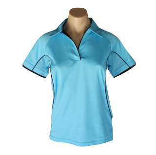 Ladies Ocean Cottonrich Polo Short Sleeve