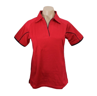 Ladies Fire Cottonrich Polo Short Sleeve