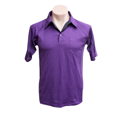 Mens Purple Cottonrich Polo - Click to enlarge picture.