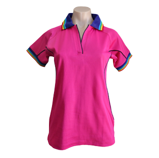 Rainbow Short Sleeve Polo