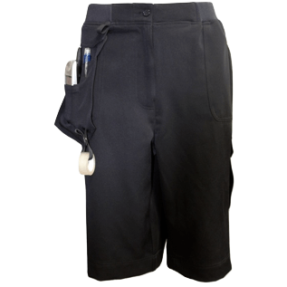 Navy Corporate Utility Shorts