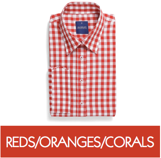 Blouses & Polos - Reds/Oranges/Corals